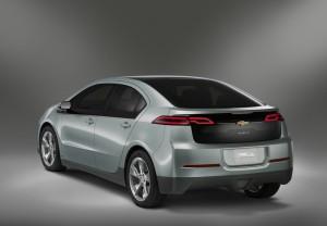 Chevrolet Volt Rear View - Chevrolet Volt Arkadan görüntü
